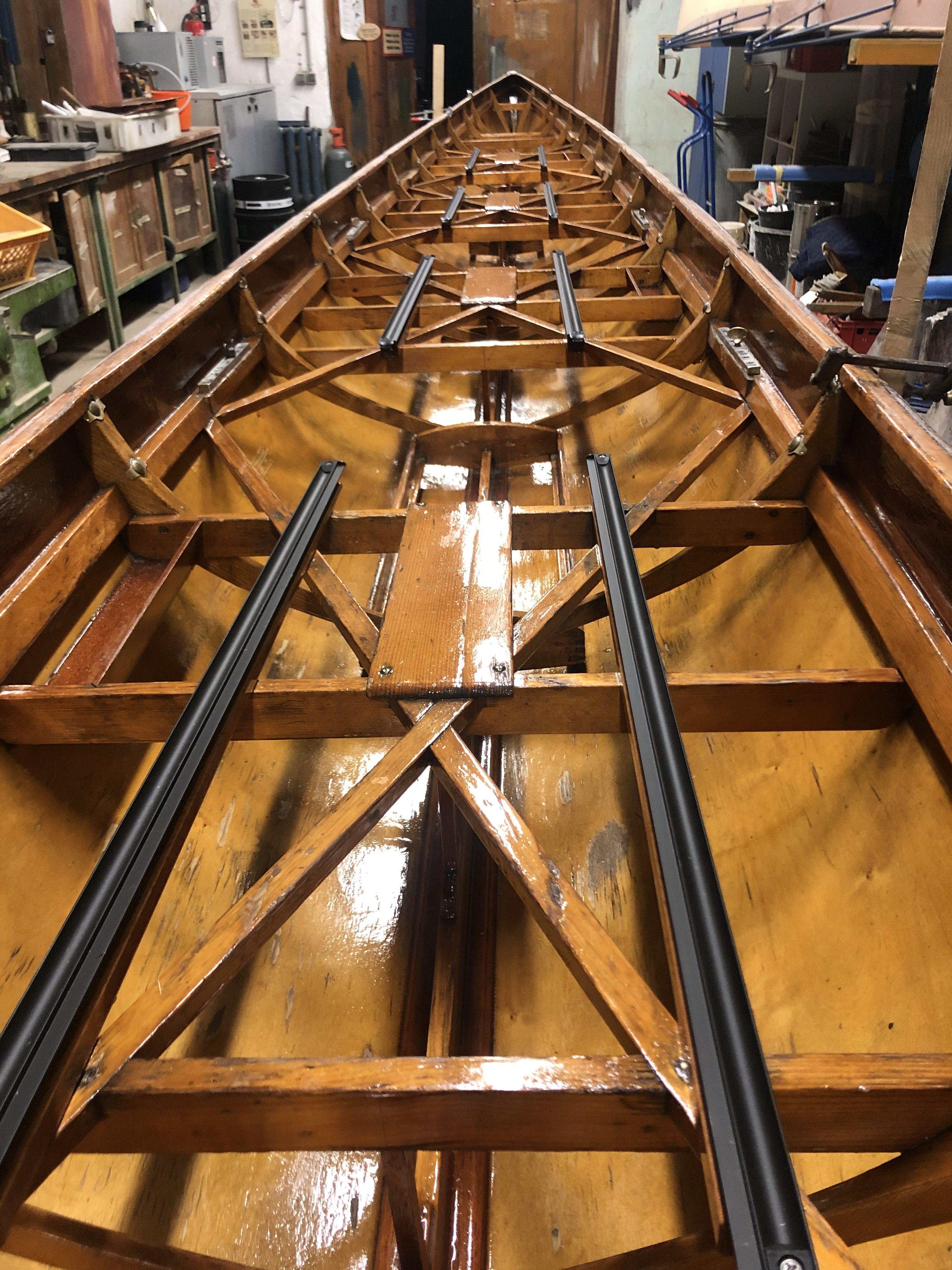 Vorbereitung für die Saison – Bootsüberholung