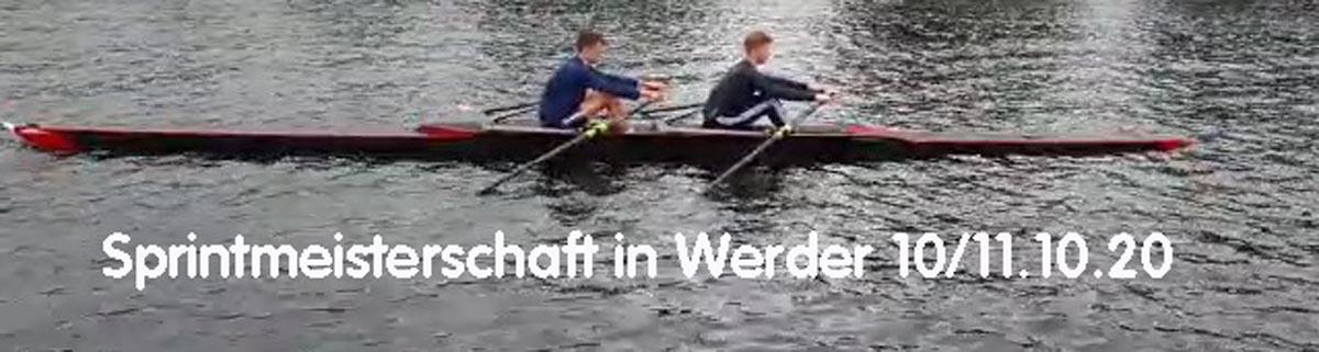 U19 Sprintmeisterschaft in Werder 10/11.10.20